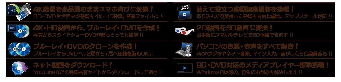最強BD/DVD/動画変換ソフト】 変...